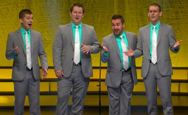 Instant Classic, the 2015 International Quartet Champions